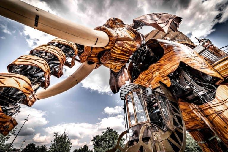 Photo de l'éléphant des Machines de l'île